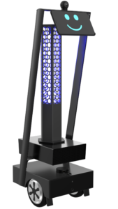 Desinfector tima robot assistant